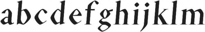 Eldamar Font Bold otf (700) Font LOWERCASE