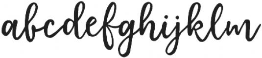 Elderflower otf (400) Font LOWERCASE