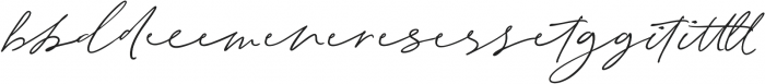 Electric Dreams Script Ligature ttf (400) Font LOWERCASE