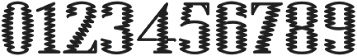 Electric Regular otf (400) Font OTHER CHARS