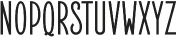 Elegant Sans Bold otf (700) Font UPPERCASE