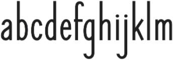 Elegant Sans Bold otf (700) Font LOWERCASE