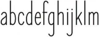 Elegant Sans Regular otf (400) Font LOWERCASE