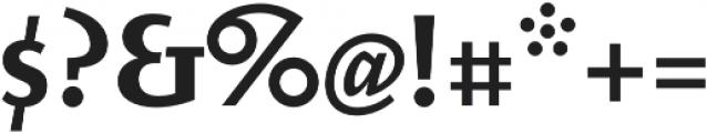 Elemental Sans Pro Bold otf (700) Font OTHER CHARS