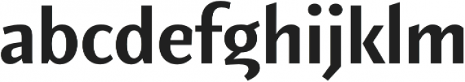 Elemental Sans Pro Bold otf (700) Font LOWERCASE