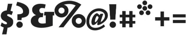 Elemental Sans Pro Extra Bold otf (700) Font OTHER CHARS