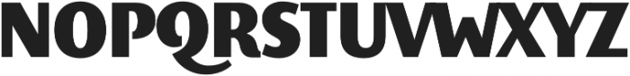 Elemental Sans Pro Extra Bold otf (700) Font UPPERCASE