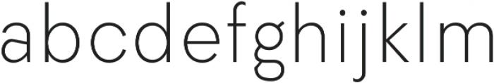 Elenar ExtraLight ttf (200) Font LOWERCASE