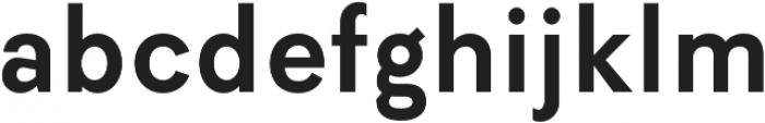 Elenar SemiBold otf (600) Font LOWERCASE