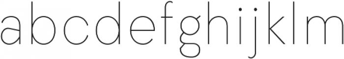 Elenar Thin otf (100) Font LOWERCASE