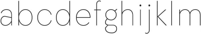 Elenar Thin ttf (100) Font LOWERCASE