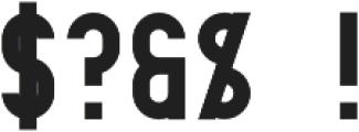 Elephant Regular otf (400) Font OTHER CHARS