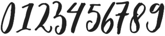 Elfa Brush otf (400) Font OTHER CHARS