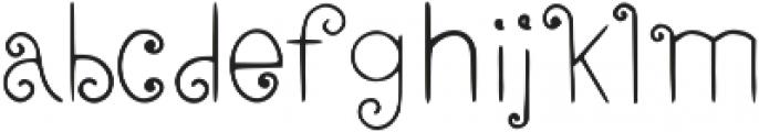 Elfline otf (400) Font LOWERCASE