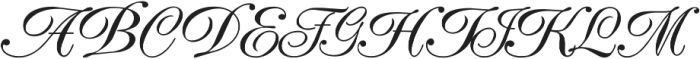 Elfort Regular ttf (400) Font UPPERCASE