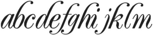 Elfort Regular ttf (400) Font LOWERCASE
