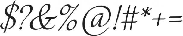 Elina Regular otf (400) Font OTHER CHARS
