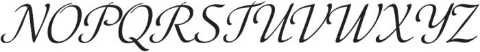 Elina Regular otf (400) Font UPPERCASE