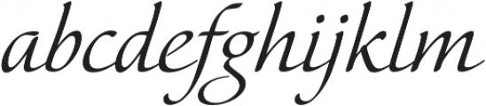 Elina Regular otf (400) Font LOWERCASE