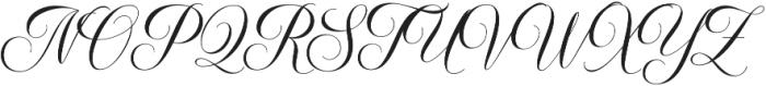 Elisabetta otf (400) Font UPPERCASE