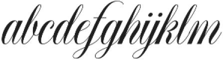 Elisabetta otf (400) Font LOWERCASE