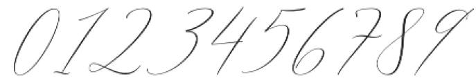 Elise Dafisa Script Regular otf (400) Font OTHER CHARS