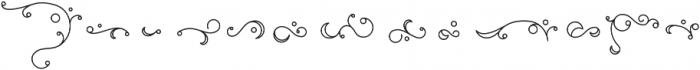 Elise Ornaments otf (400) Font UPPERCASE