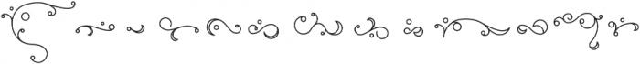 Elise Ornaments otf (400) Font LOWERCASE