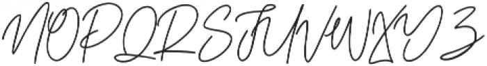 Elitmog Alternate otf (400) Font UPPERCASE