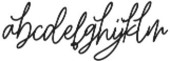 Elitmog Alternate otf (400) Font LOWERCASE
