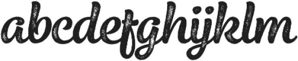 Elixir Print Brush otf (400) Font LOWERCASE