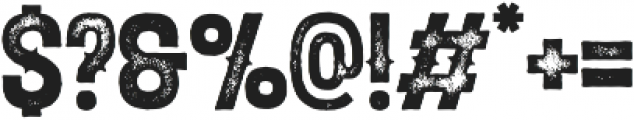 Elixir Print Circus otf (400) Font OTHER CHARS