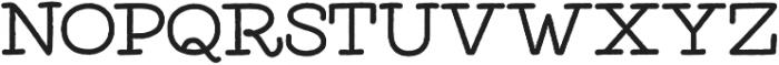 Elixir Print Serif otf (400) Font LOWERCASE