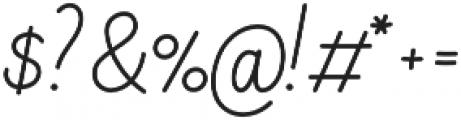 Elixir Script otf (400) Font OTHER CHARS