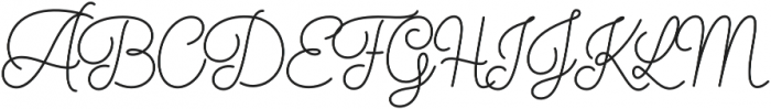 Elixir Script otf (400) Font UPPERCASE