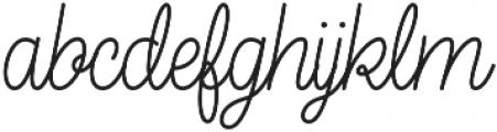 Elixir Script otf (400) Font LOWERCASE