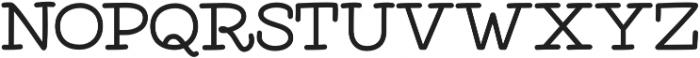 Elixir Serif otf (400) Font UPPERCASE