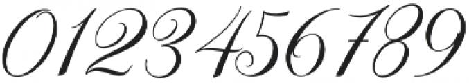 Elizabeth Script otf (400) Font OTHER CHARS