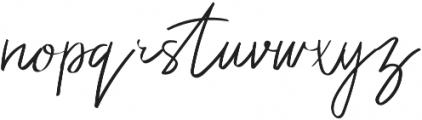Elliana Script Regular otf (400) Font LOWERCASE