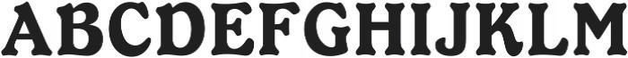 Ellington Regular ttf (400) Font UPPERCASE