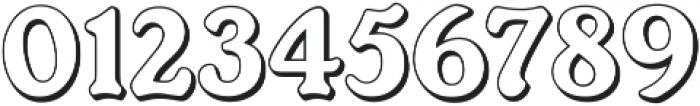 Ellington Shadow ttf (400) Font OTHER CHARS