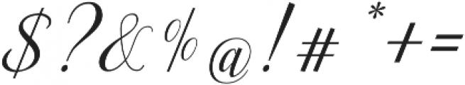 Ellizabeth Regular otf (400) Font OTHER CHARS