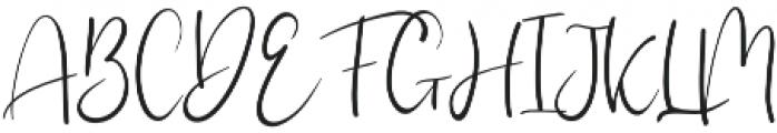 Elmah otf (400) Font UPPERCASE