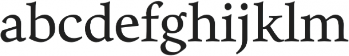 Eloquence otf (400) Font LOWERCASE