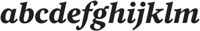 Eloquence otf (700) Font LOWERCASE