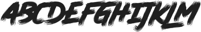 Elrotex Swash otf (400) Font LOWERCASE