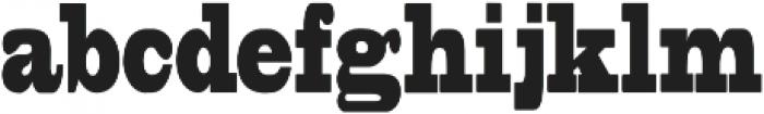 Elsora Regular otf (400) Font LOWERCASE