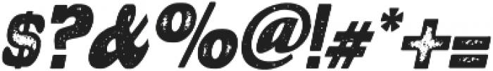 ElsoraDisstresed otf (400) Font OTHER CHARS