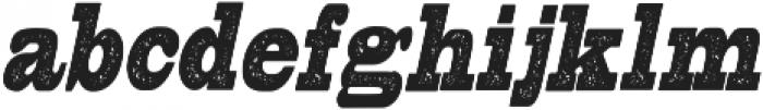 ElsoraDisstresed otf (400) Font LOWERCASE