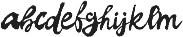 Elvissa otf (400) Font LOWERCASE